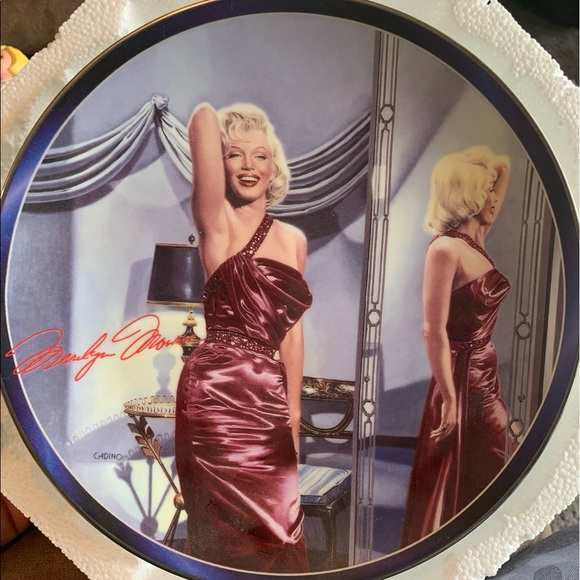 Marilyn Monroe Collectable Plate